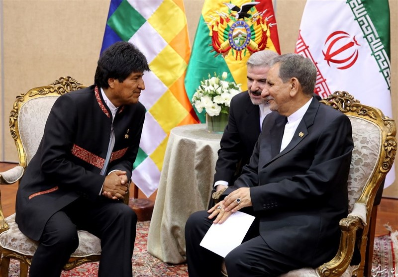 Iran, Bolivia Mull Technological Cooperation