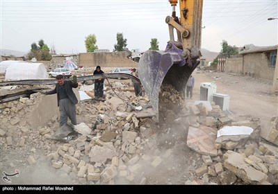 Quake Reconstruction Process Begins in Iran