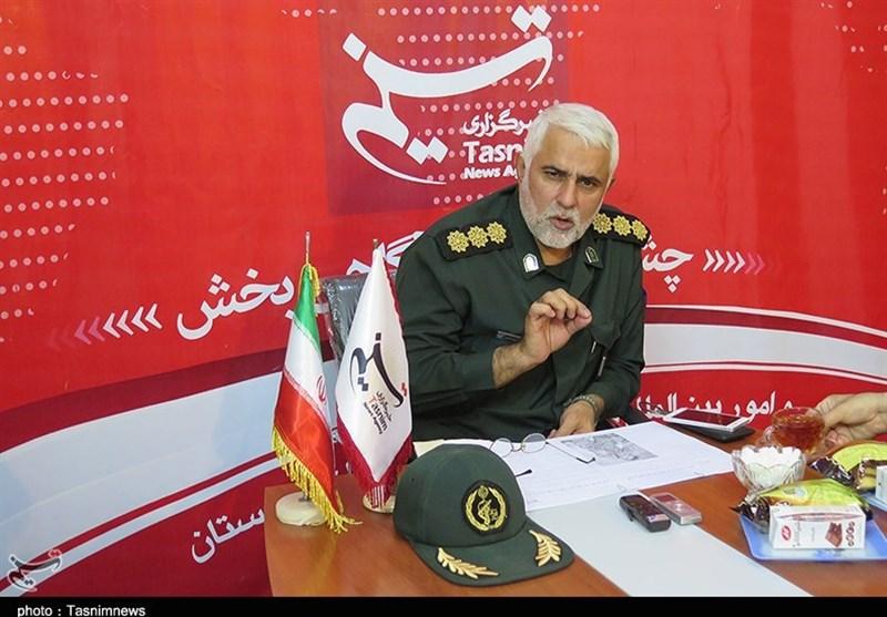 خوزستان| سرهنگ حاجتی: حضور غیورمردان عشایر عرب در مراسم استقبال از شهدا حامل پیام سنگین و دندانشکنی به دشمنان است