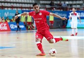 Iran's Tayebi Nominated for the Best Player of the World Prize
