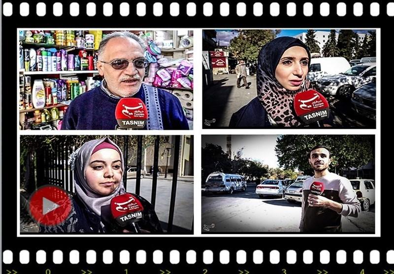 نظر مردم سوریه در مورد ایران و پایان داعش/کنار خبر02