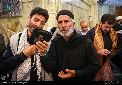 زائران حرم امامین عسگرین در سامرا