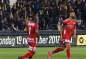 پیروزی پنجم اوستنده با بازی 90 دقیقهای رضاییان