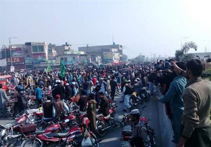 اعتصاب 7 روزه شهر لاهور پایان یافت