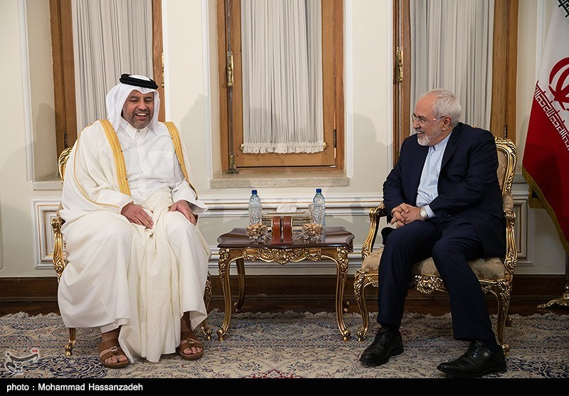 Iranian, Qatari Ministers Discuss Ways to Enhance Economic Ties