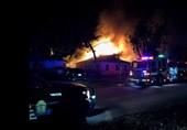 آتشسوزی ساختمان مسکونی 4 کشته و 23 زخمی در پی داشت + عکس