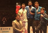 Iran Runner-Up at Karate 1-Series A