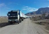 وزارت دفاع 300 کانکس به مناطق زلزلهزده کرمانشاه اهدا کرد + عکس