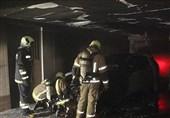 """""""خودروی گرانقیمت"""" خانه 5 طبقه را به آتش کشید + تصاویر"""