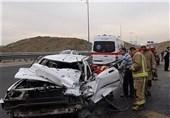 اراک| تصادف 3 خودرو در استان مرکزی؛ 4 نفر کشته و مجروح شدند