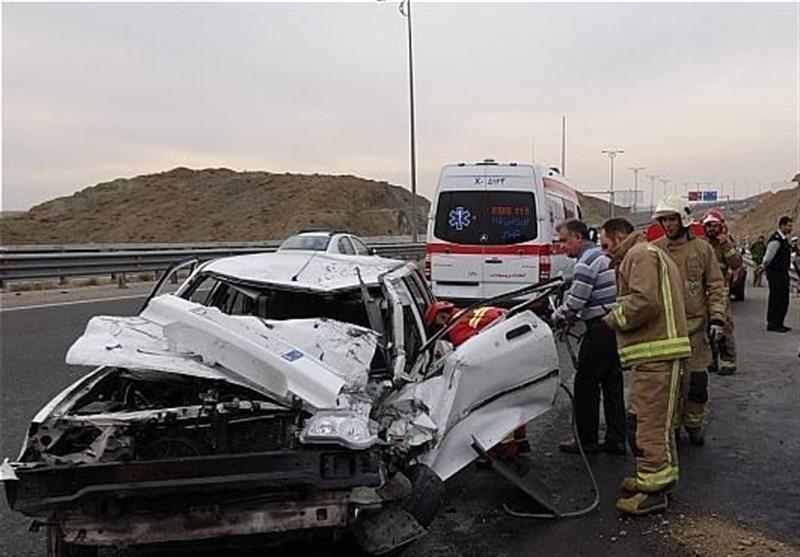 حوادث رانندگی در محورهای مواصلاتی استان مرکزی 2 کشته و 2 مجروح برجای گذاشت