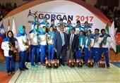 Iranian Men's, Women's Teams Come 3rd at Asian Kabaddi Championship