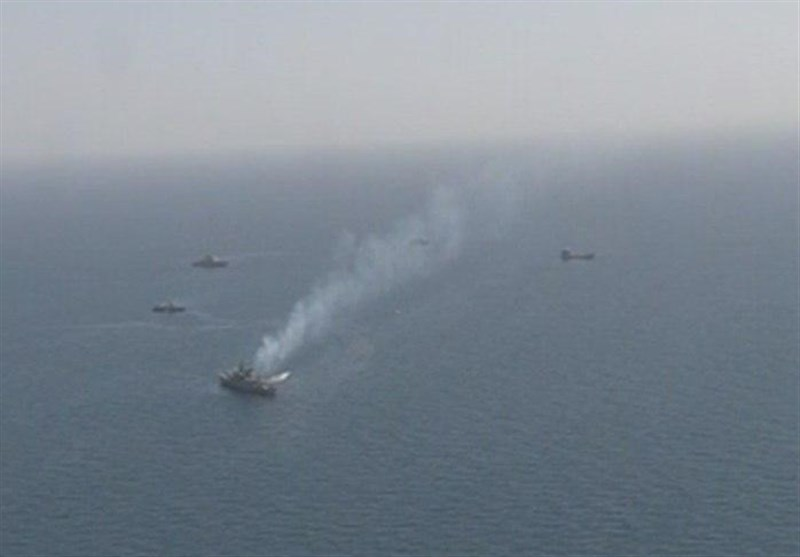 Iranian Navy Participating in Int'l Maritime Drills in Bangladesh