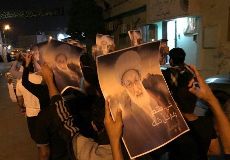 احتجاجات وتظاهرات متفرقة رفضاً لاستمرار فرض الاقامة الجبریة على آیة الله قاسم + صور