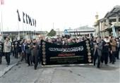 عزاداری مردم رشت در سوگ امام حسن عسکری (ع)+تصاویر