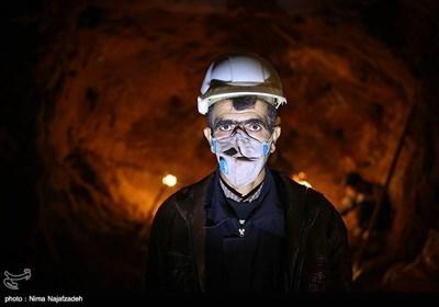 کارگران معدن فیروزه - نیشابور