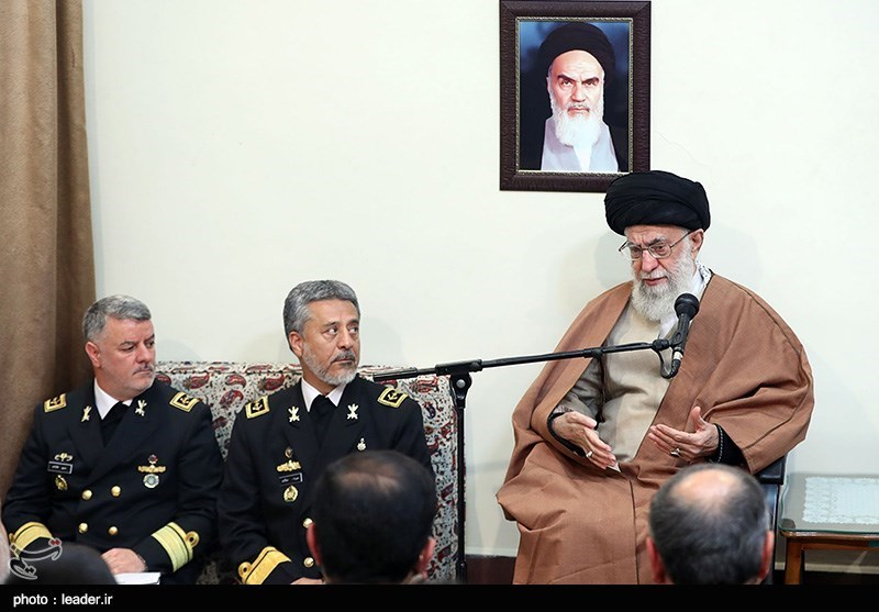 Leader Urges Boost to Iran's Naval Power