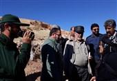 درخواست سردار باقرزاده از بنیاد شهید درباره مناطق زلزله زده