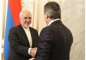 دیدار ظریف با نخست وزیر ارمنستان/ تاکید بر رفع آلودگی رودخانه ارس