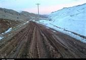 برف راه ارتباطی 50 روستای کهگیلویه و بویراحمد را قطع کرد