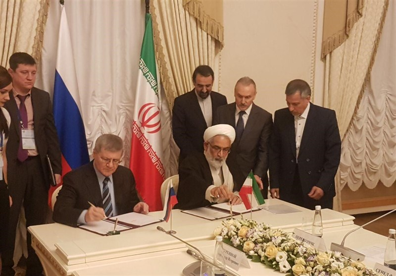 Iran, Russia Sign MoU on Judiciary Cooperation