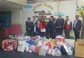 کمکهای دانش آموزان پاکستانی به زلزلهزدگان کرمانشاه تحویل هلال احمر شد