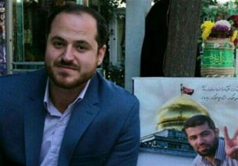 شهید مدافع حرم, نوید صفری بر بالین شهادت کمیل+فیلم