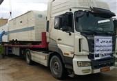اوقاف بوشهر 2 تریلری و کامیون کمک برای مناطق زلزلهزده ارسال کرد