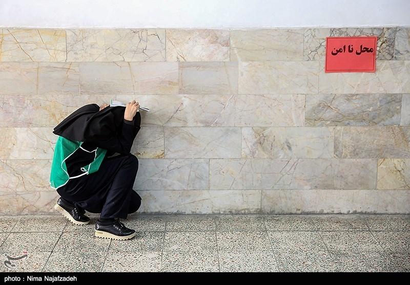مانور ایمنی در برابر زلزله در مدارس -مشهد