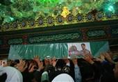 """پیکر شهید مدافع حرم تیپ """"زینبیون"""" در قم تشییع میشود"""