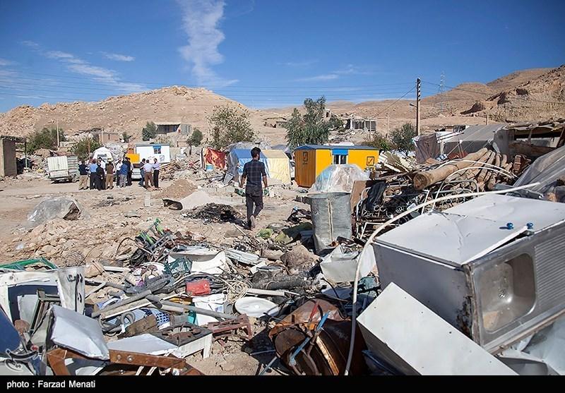 سفر مجید قلی زاده مدیر عامل خبرگزاری تسنیم به مناطق زلزله زده