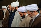 دیدار جمعی از مدیران کمیته امداد با آیت الله نوری همدانی