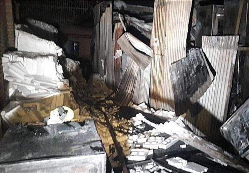 آتشسوزی گسترده در شرکت سینجر گاز