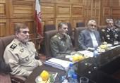 نمایندگان مجلس به دیدار فرمانده ارتش رفتند
