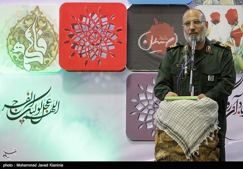 فرمانده سپاه کرمان: ملت ایران در ادامه راه شهدا هیچ تردیدی ندارد