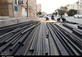 بازدید آیتالله موسویجزایری از کارگاه ساخت کانکس برای زلزلهزدگان کرمانشاه در اهواز+ تصاویر
