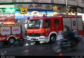انفجار شدید دیگ بخار در ساختمان خیابان ولیعصر