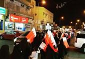 لبیک شهروندان بحرینی به ندای علما برای اعلام همبستگی با شیخ عیسی قاسم + تصاویر