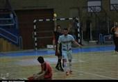 دیدار تیمهای فوتسال آتلیه طهران و هیئت قم به روایت تصویر