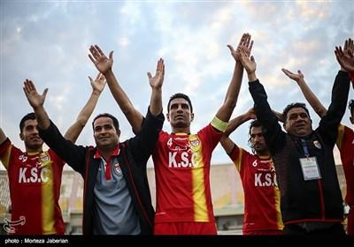 دیدار تیم های فولاد خوزستان و سپید رود رشت