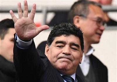 مارادونا: من یک مرده ام/ در جام جهانی روسیه طرفدار اسپانیا و آلمان هستم