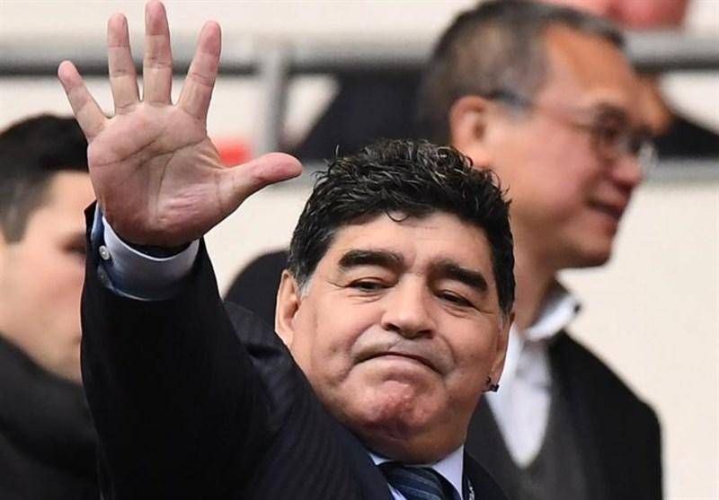 مارادونا: من یک مردهام/ در جام جهانی روسیه طرفدار اسپانیا و آلمان هستم