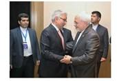دیدار ظریف با همتایان پاکستانی و آذربایجانی
