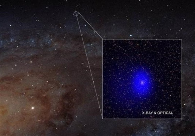 Supermassive Black Hole Binary Photobombs Andromeda Galaxy, Tightest Pair Ever Seen