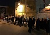 تداوم تظاهرات بحرینیها در اعتراض به محرومیت آیتالله عیسی قاسم از درمان+ تصاویر
