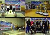 میاندوآب عنوان قهرمانی مسابقات لیگ استانی وزنه برداری آذربایجان غربی را کسب کرد+تصاویر