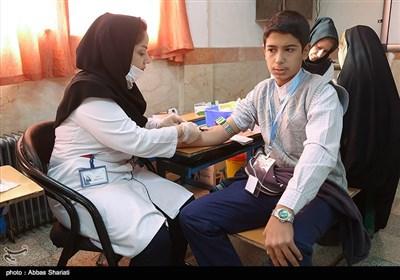 ایستگاه خدمات رایگان پزشکی زندگی خوب در حصارک کرج