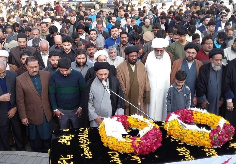 پاکستان کے نامور قانون دان شہید سید سیدین زیدی کی نماز جنازہ اور عوام کے تاثرات