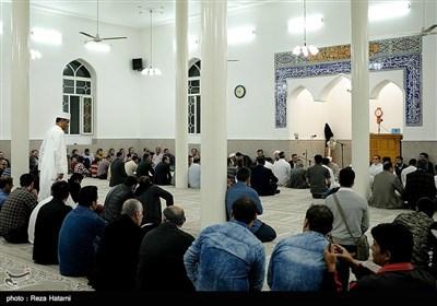 مراسم هفته وحدت مسجد اهل سنت - جزیره خارگ