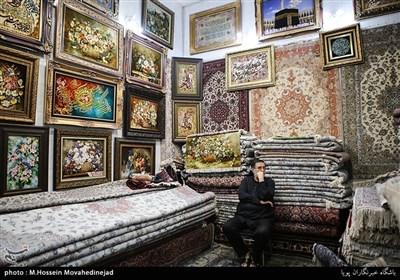 فرش فروشی قدیمی واقع در خیابان ایران